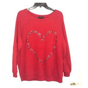 Heart Design Sweatshirt